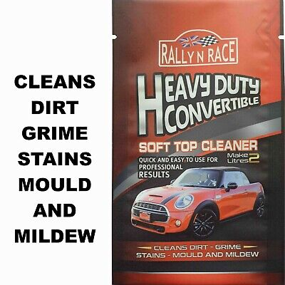 Autoglym Cabriolet Fabric Hood Cleaner Soft Top Roof