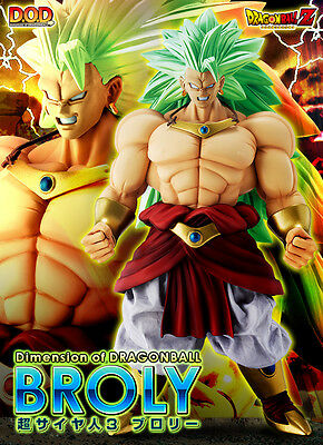 Dragon Ball Z Broly Ss3 Dod Megahouse Figure New Dimension Figura