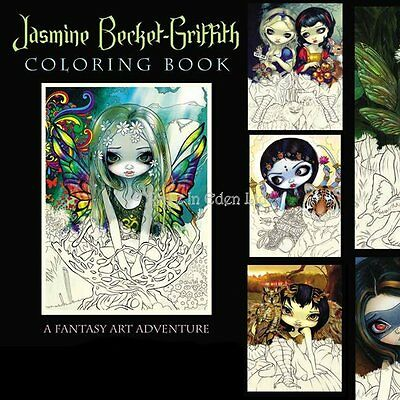 STRANGELING COLOURING BOOK By Jasmine Becket-Griffith Fantasy Fairy Art