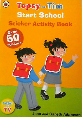 children's book Start School Topsy and Tim Sticker Activity NEW