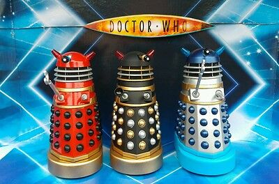 CUSTOM Dr. Who and the Daleks (1965) SET OF THREE