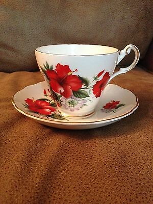 Regency England Bone China Cup and Saucer (1140)