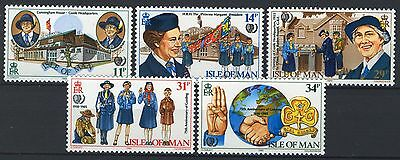 Isle of Man 1985, 75th Anniv. of Girl Guides, MNH
