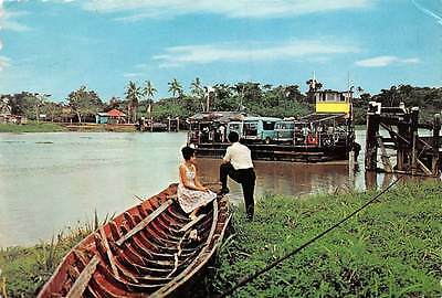 South America Greetings from Suriname, Ferry Crossing at Uitkijk
