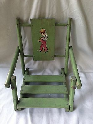 Swing, Antique, Small, Foldable, Green, Decorative