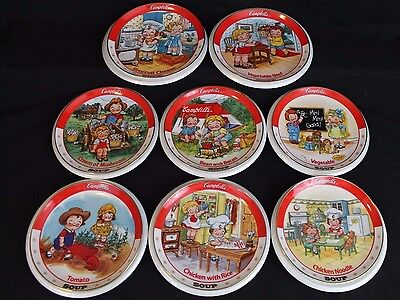 8 Collector Plate Set The Campbell Kids Collection 1994 Limited- Danbury Mint