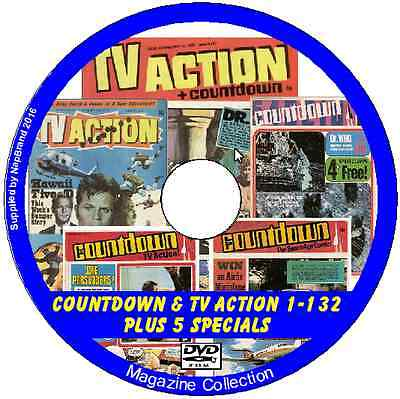 TV Action & Countdown  1-132 Plus 5 Specials on DVD + viewing software