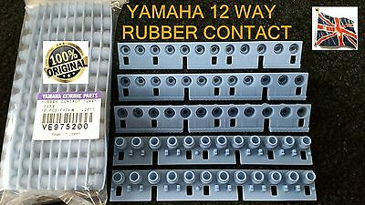 Yamaha 12 way Rubber Contact VE975200 most Older PSR models - others one octave