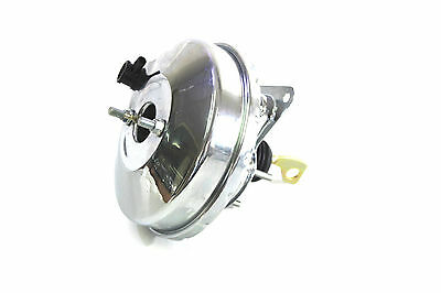"Ford Mustang Brake Booster 9"" Single Diaphram Chrome 67-70 Suit Many Appliction"