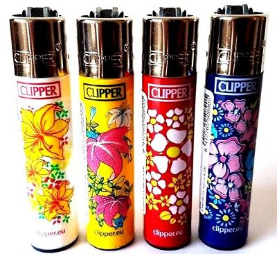 Clipper Lighters - Floral Multi Flower Garden Print Nature - Full Collection