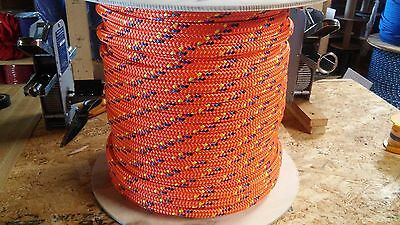 "1/2"" x 600 ft. Double Braid~Yacht Braid Polyester rope Spool.Made in the USA."
