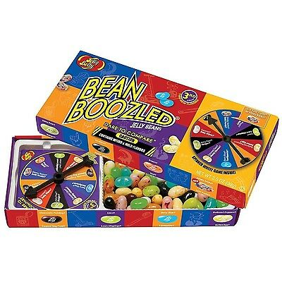 Jelly Belly BeanBoozled Jelly Beans with Spinner Wheel Game 3rd Edition NEW F...