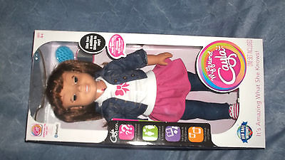 My Friend Cayla Doll, Brown Hair  Interactive Talking Bluetooth Doll~Sealed. NEW