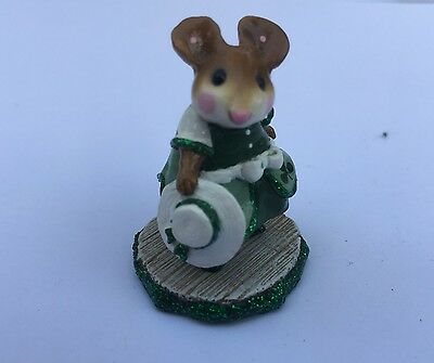 Wee Forest Folk - Dancer with white hat - one of a kind - SAME DAY FREE shipping