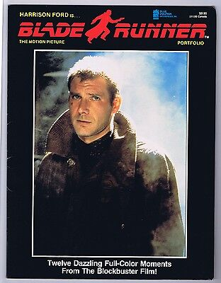 Blade Runner Harrison Ford First Edition Portfolio 12 Full Color Plates 1982 CGC