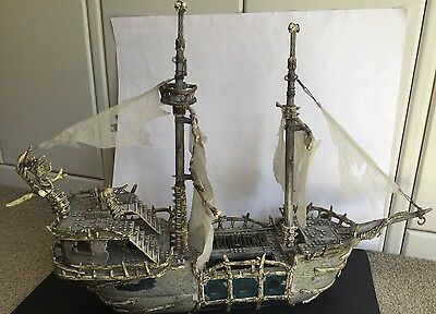 Mega Bloks Pyrates Pirate Ship Dread Eyes Phantom 3660 Incomplete Awesome As Is