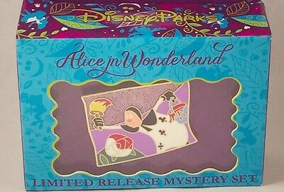 Black Club Alice wonderland 65th Pin Disney Playing Card Mystery Reveal Conceal