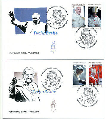 FDC POPE FRANCIS YEAR III VATICAN 2015 First Day Cover PAPA FRANCESCO FRANCISCO