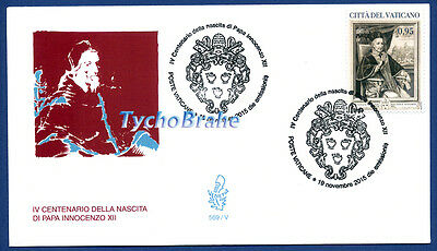 FDC 400° POPE INNOCENT XII VATICAN 2015 First Day Cover Innocenzo VENETIA 569