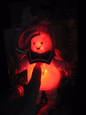 GHOSTBUSTERS action figure STAY PUFT light up movie NEW balloon ghost
