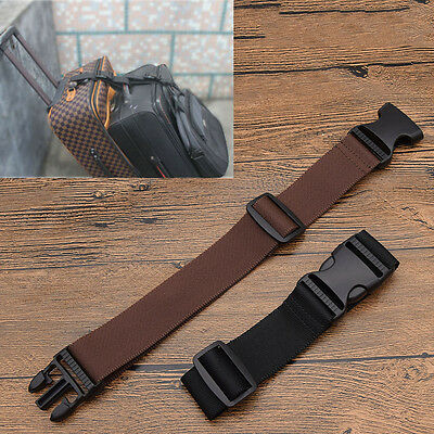 Nylon Bag Buckle Strap Belt for Luggage Suitcase Attachment Travel Supplies