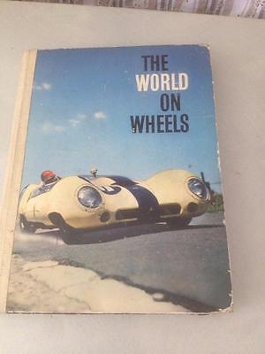 Vintage Automotive Car World On Wheels Book Australian Jack Brabham Nestle Cards