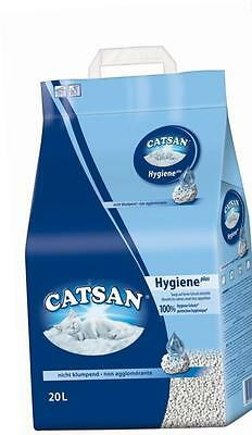 Catsan Hygiene Odour protection Highly absorbent Cat Litter, 20 L