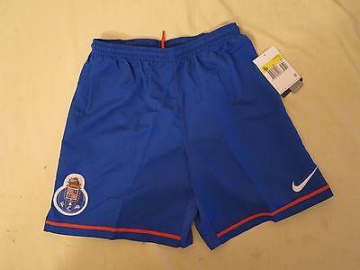 Fc Porto Football Short Shirt Home Sm 8/9Y Blue Nike Rare