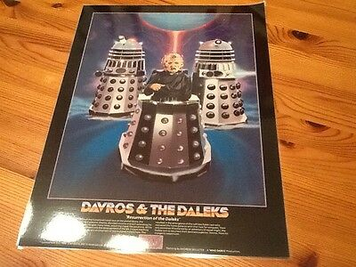 Doctor Who Andrew Skilleter Print: Davros and the Daleks (1984)