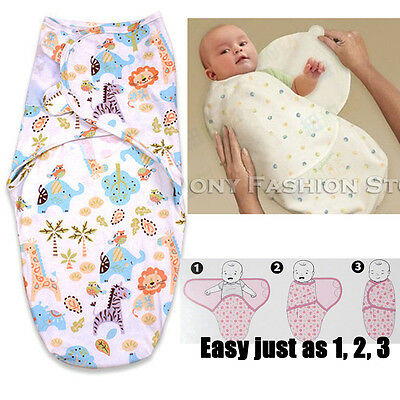 Elephant Infant Swaddle Blanket New Born Baby Candle Wrap Wrapping Clothing Gift
