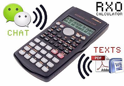 Cheating Calculator RXO (chat & texts)
