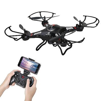 Holy Stone F183W FPV RC Quadcopter Drone with 720P HD Live Video Wifi 120Wide...