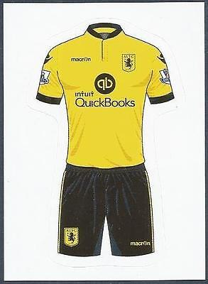 #221-FULHAM-HOME /& AWAY KITS TOPPS 2010 PREMIER LEAGUE