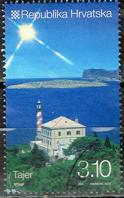Croatia Famous Tanger Archetecture stamp 2016