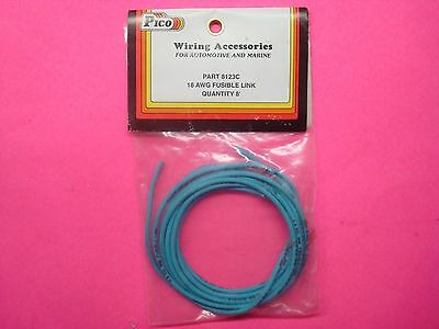 18g 8FT PICO FUSIBLE LINK PRIMARY GROUND CABLE fusible link primary ground wire 14g 10ft protects wiring circuit