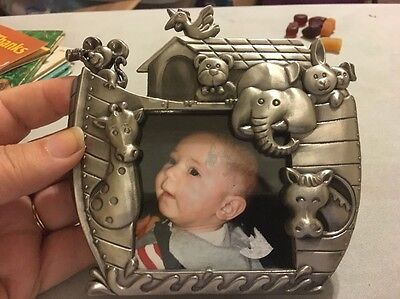 Noah's Ark Picture Frame, Nursery, Baby Pictures