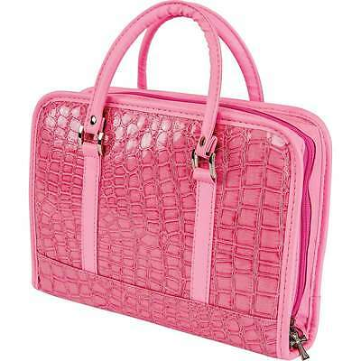 Womens Ladies Girls Pink Bible Tote Case Protective Carrier Holder Cover Gift
