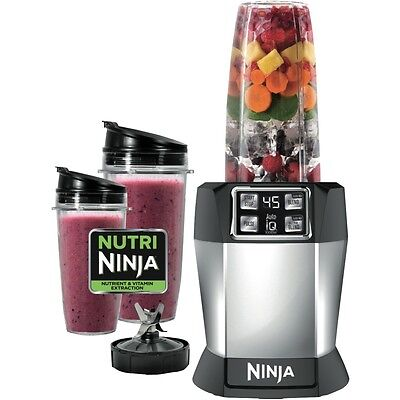 Nutri Ninja With Auto-Iq Bl480Nz 1000W Nutrient & Vitamin Extraction One Touch