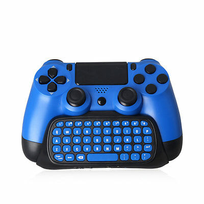 Practical 2.4G Wireless Bluetooth Keyboard Keypad Chatpad for PS4 Slim GT
