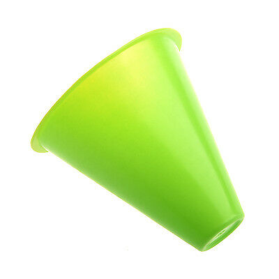 5pcs 3 inches cones for Slalom Skate Roller-Skating - Green LW