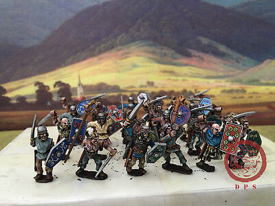 28mm Ancient WAB DPS Painted Gallic Warriors GH157