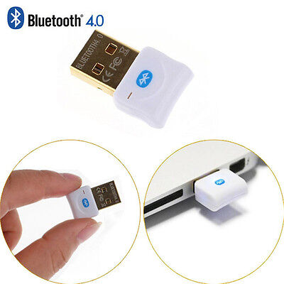 Bluetooth 4.0 USB 3.0/2.0 Stick HighSpeed V4 Nano BT Adapter - Mini Dongle Neu