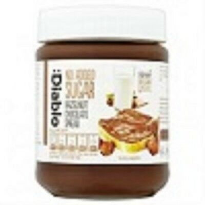 Diablo No Added Sugar Hazelnut Chocolate Spread Jar 350g PACK OF 2