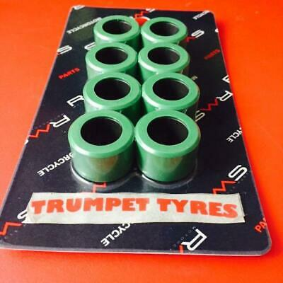 PIAGGIO MP3 400 25mm X 17mm x 18.6gr RMS 8 Roller Weights Rollers Set VS19027
