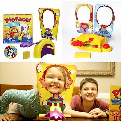 Cake Splat Pie Face Board Game Pie Splat In The Face Game Family Kids Toys Gifts