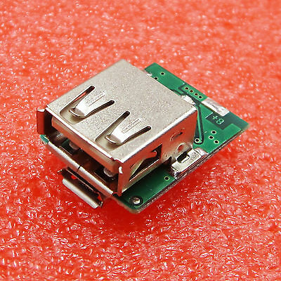 2PCS Boost Converter 3.7V TO 5V Step-Up Power Module Lithium Battery Charging