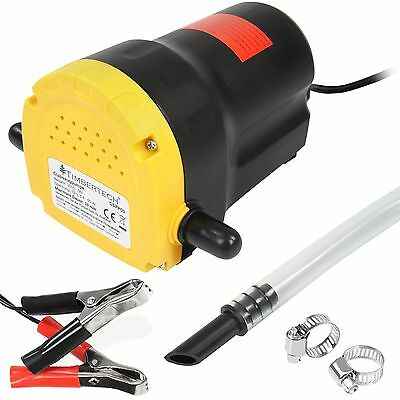 Timbertech Oil Diesel Suction Pump 12V Transfer Change Tool Extraction