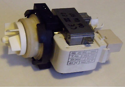 GEN MIELE G575-G887 DISHWASHER DRAIN PUMP BE20 P/No  4063381 4063382 USED
