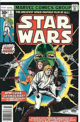 Star Wars no. 1, Marvel, 1977, Very Fine-.