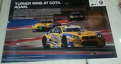 2016 Turner Motorsports racing BMW poster